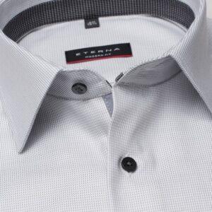 szürke modern fit férfi ing
