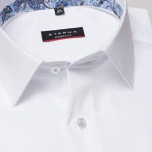 fehér modern fit férfi ing