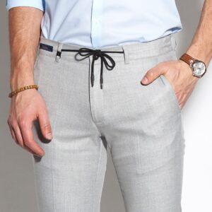 szürke elegáns férfi nadrág